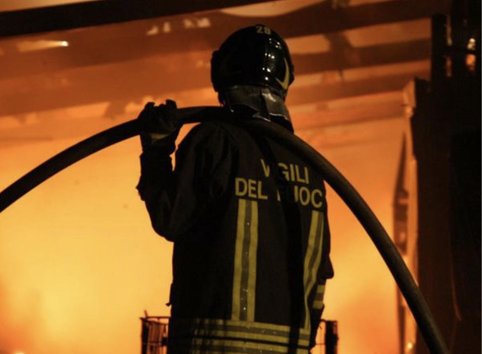 Incendio di silos – lo scarico di materiale