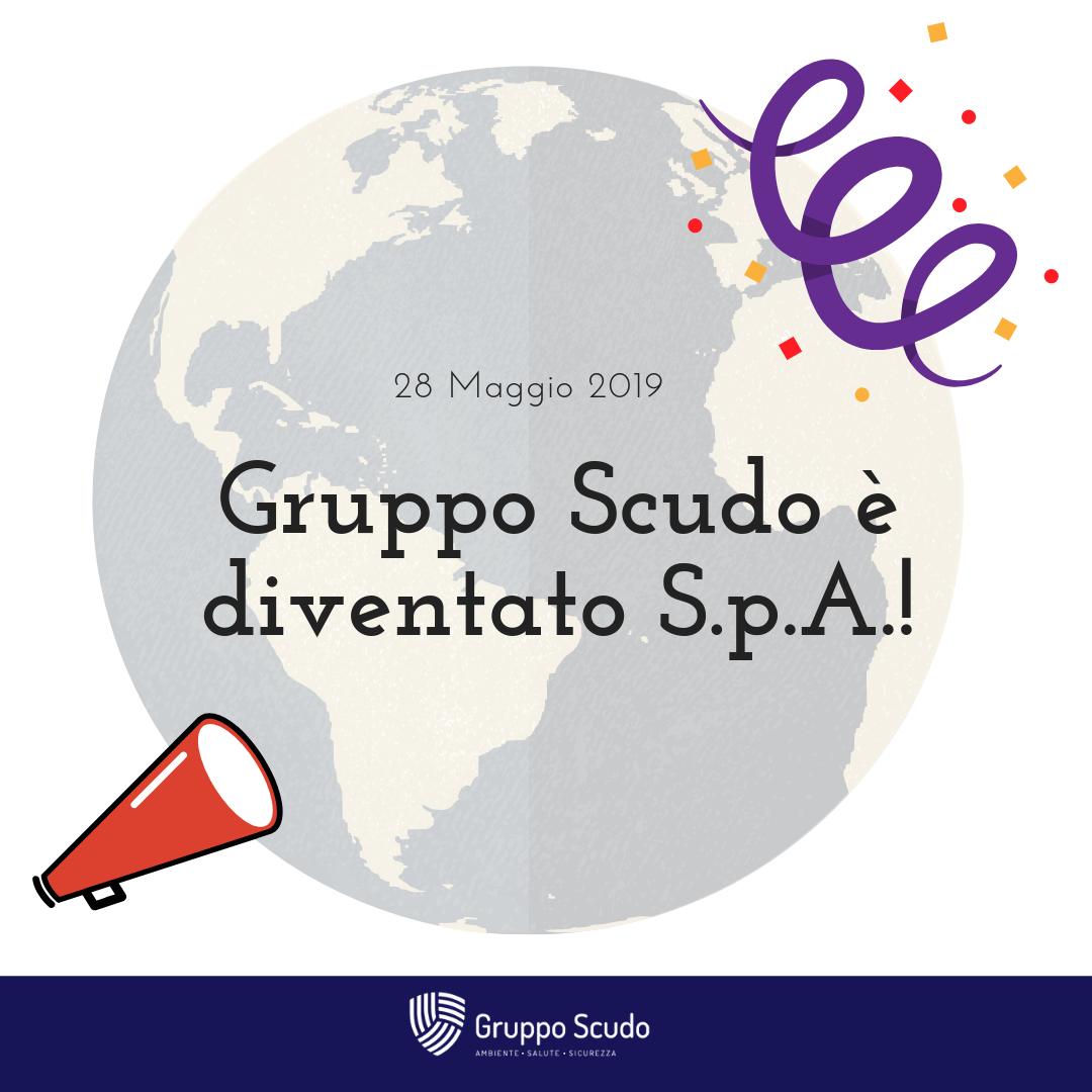 Gruppo Scudo è diventato S.p.A.